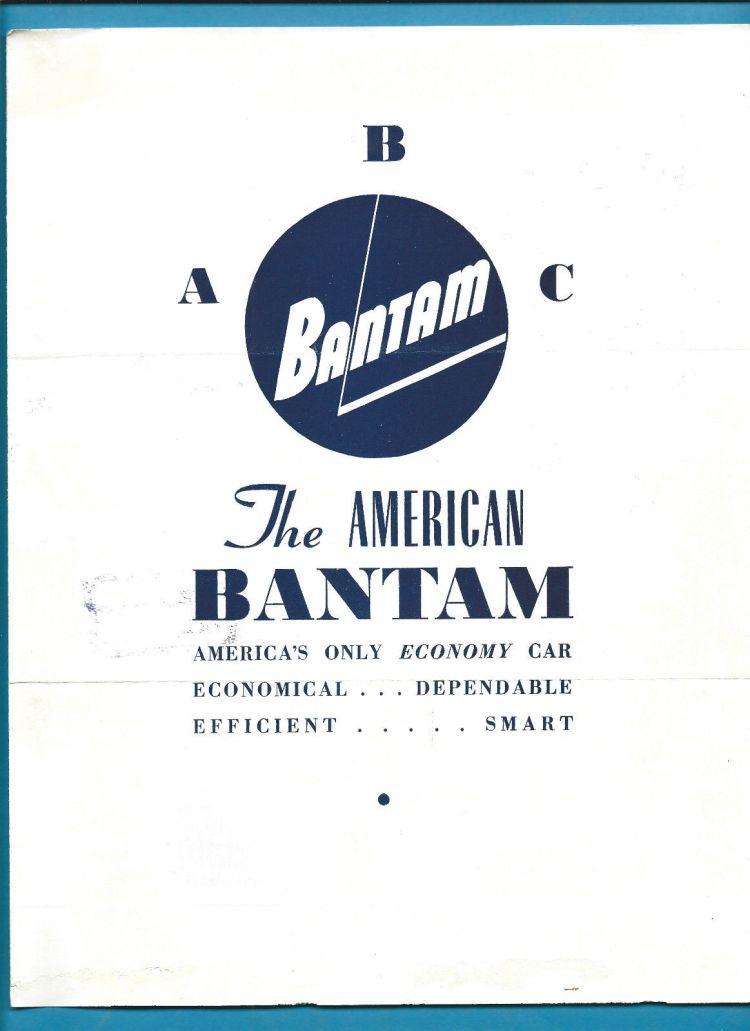 Austrailian ABC Bantam Brochure 1