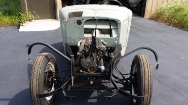 1939 Bantam Roadster Correct fender irons