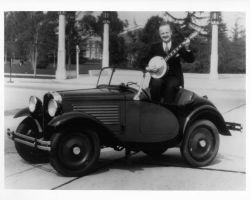 American Austin Roadster Banjo Player Photo