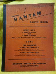 Bantam BRC Parts Book 1