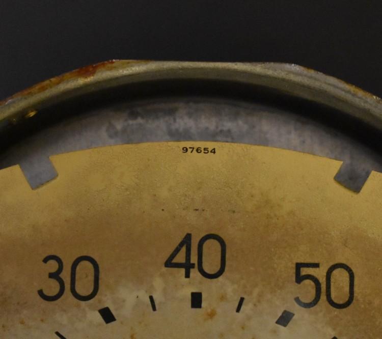 Bantam Speedometer Cream Face 2