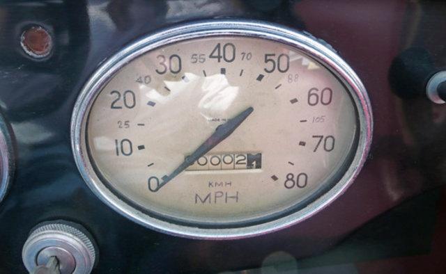 bantam kmh speedometer