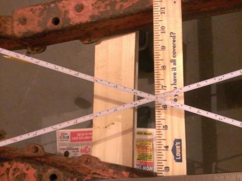 Bantam chassis tape measure 8