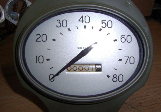 brc speedometer after micahel brown