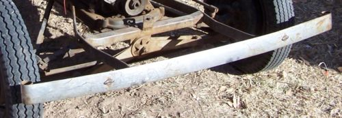 american austin single bar bumper 125