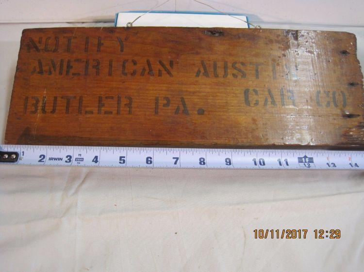 American Austin Crate