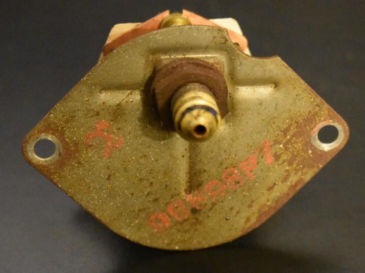 Bantam 15 lb oil pressure gauge 3