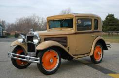 1930 American Austin Coupe Front 3/4 View