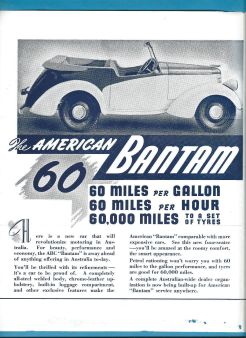 Austrailian ABC Bantam Brochure 2