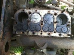 cylinder head off