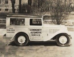1934 American Austin Panel Truck Passenger Side