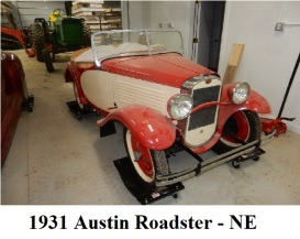 1931 American Austin Roadster Featured Photo