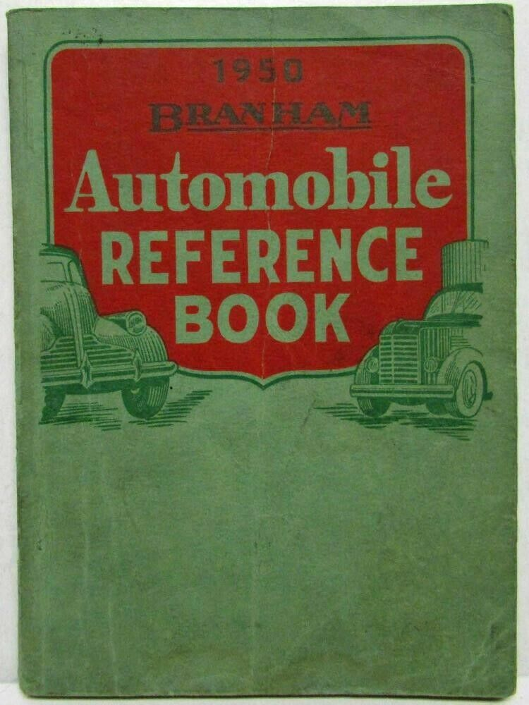 1950 Branham Automobile Reference Book 1
