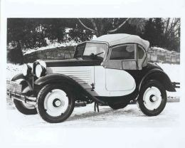 American Austin Roadster Factory Photo Top Up