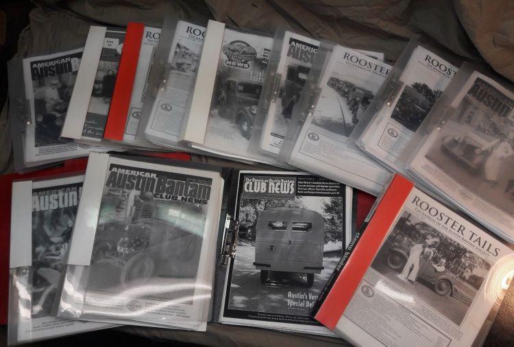 Bantam Club magazines