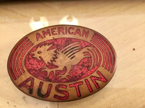 American Austin Radiator Badge 1
