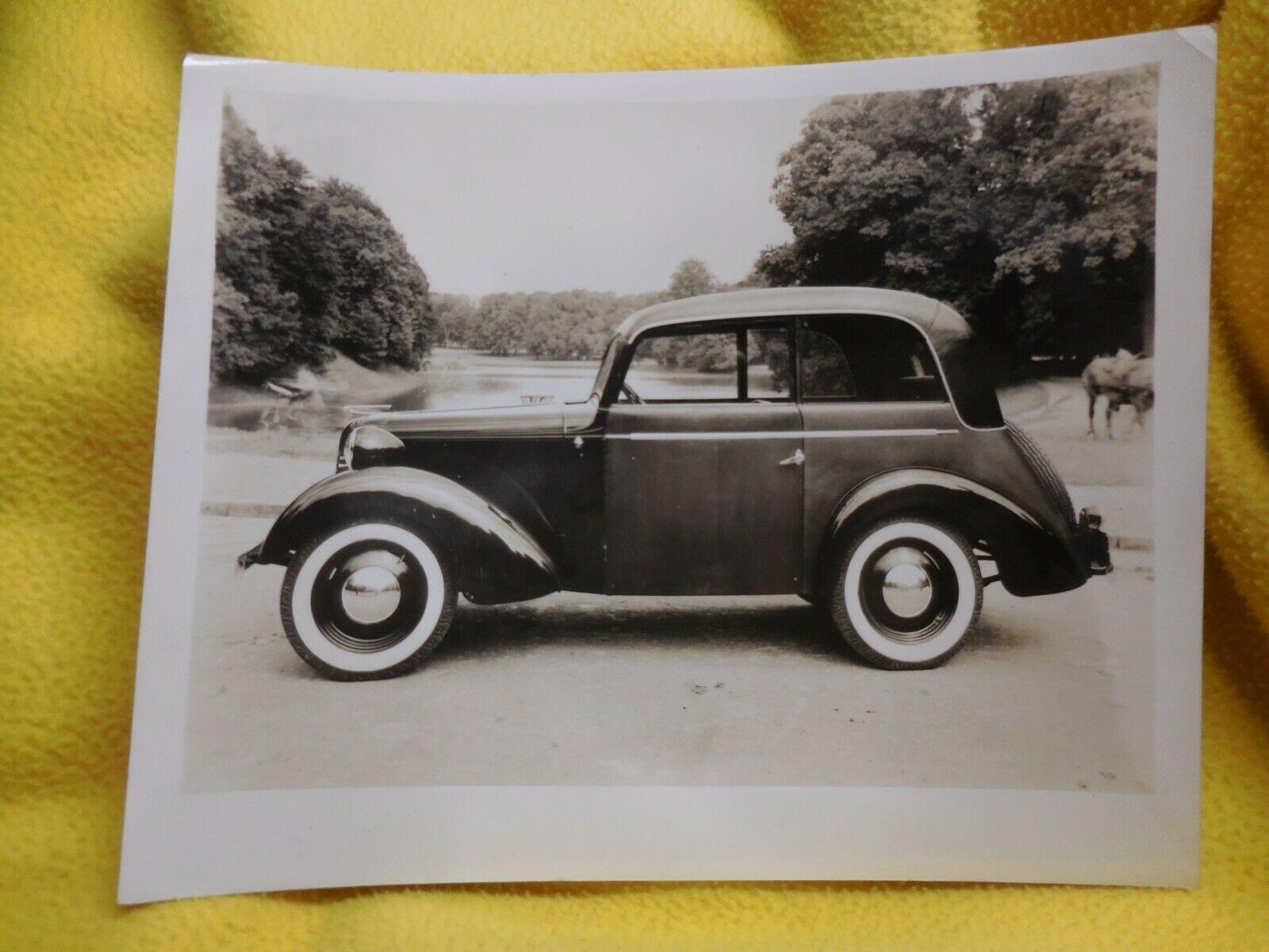 American Bantam press photo Sedan European