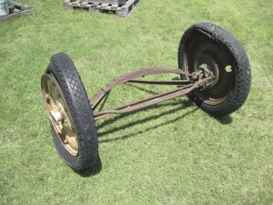 austin front axle