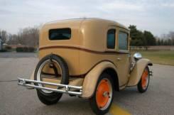 1930 American Austin Coupe Rear 3/4 View