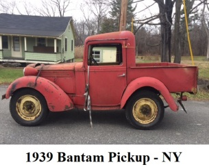 1939 Bantam Truck NY Featured Image