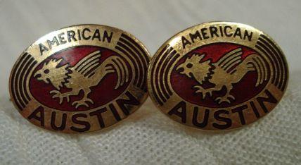 American Austin Cufflinks