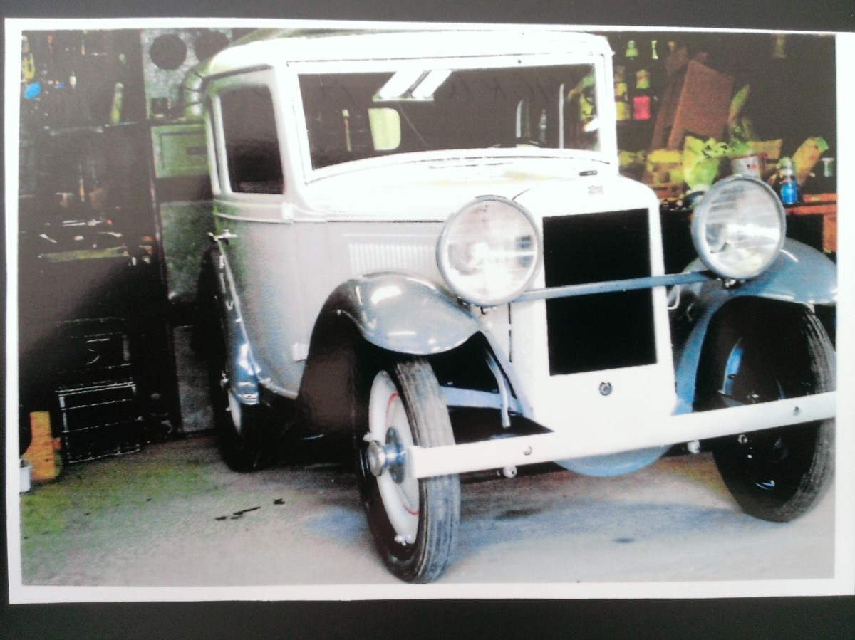 Bantam recent restoration larger headlights