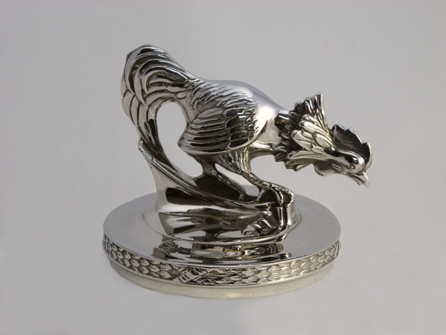 stainless rooster