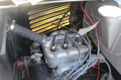 American Austin Roadster engine, detailed driver side