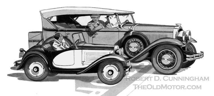 American Austin Roadster Rendering