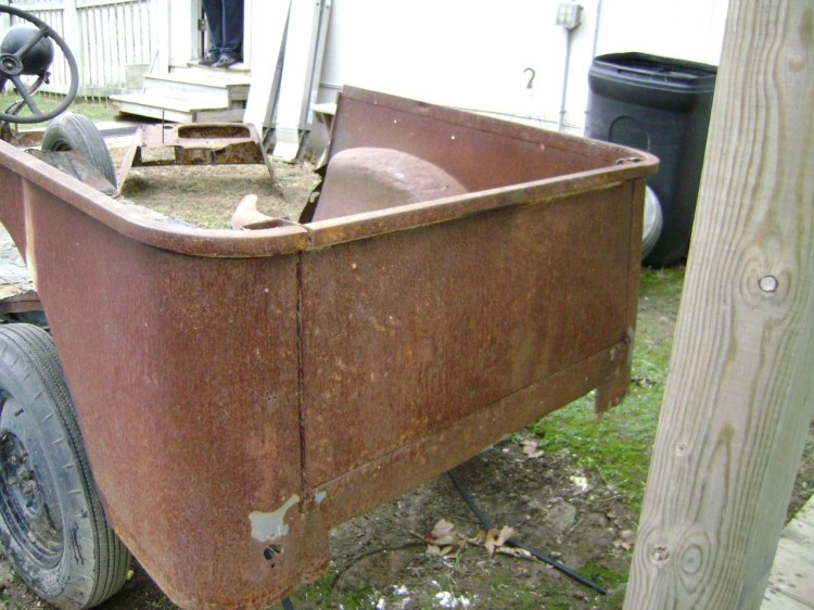 1940 Bantam Pickup Truck Bed