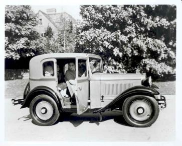 American Austin Suburban Coupe 375 Series