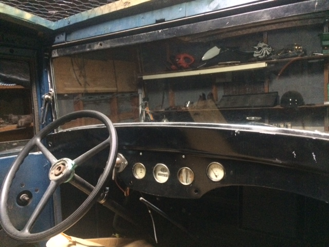 1931 American Austin for sale dash board steering wheel interior