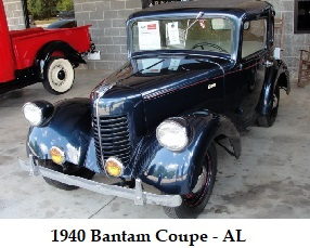 1940 Bantam Coupe -AL Feature Photo