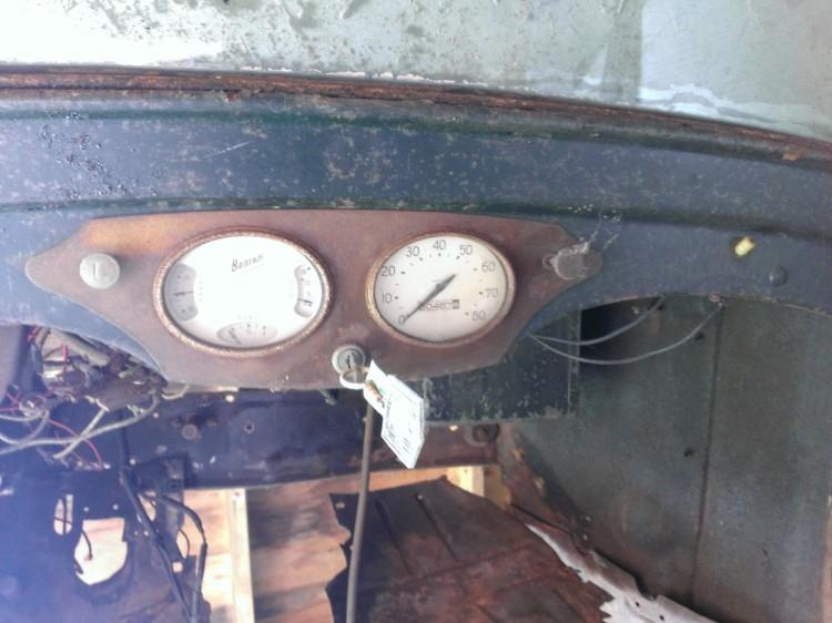 bantam coupe original dash trim 1938 a
