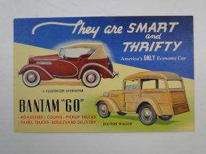 Bantam Woody Postcard 1