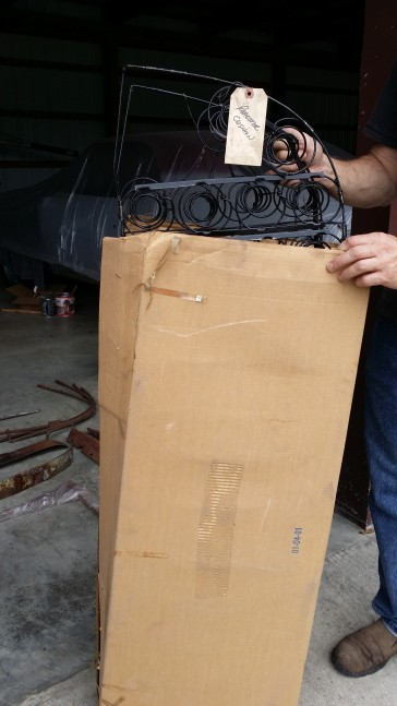 Brand New Roadster seat frames in boxes