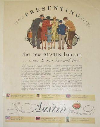American Austin Magazine Ad 3