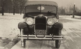 American Austin Roadster Factory Photo Top Up Front