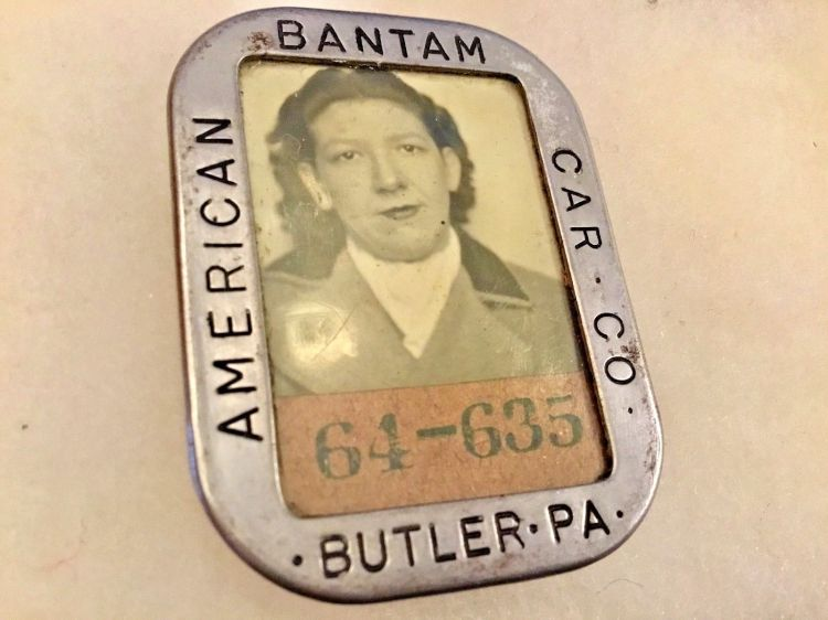 American Bantam Car Co badge 1