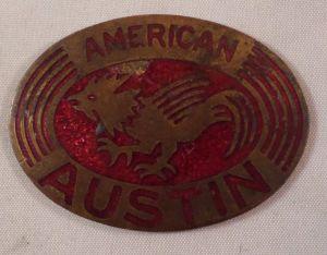 American Austin Badge 1