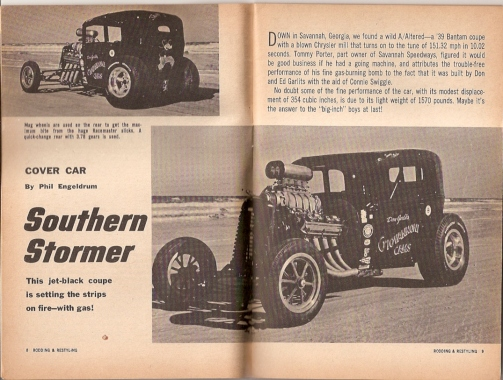 Garlits Bantam article