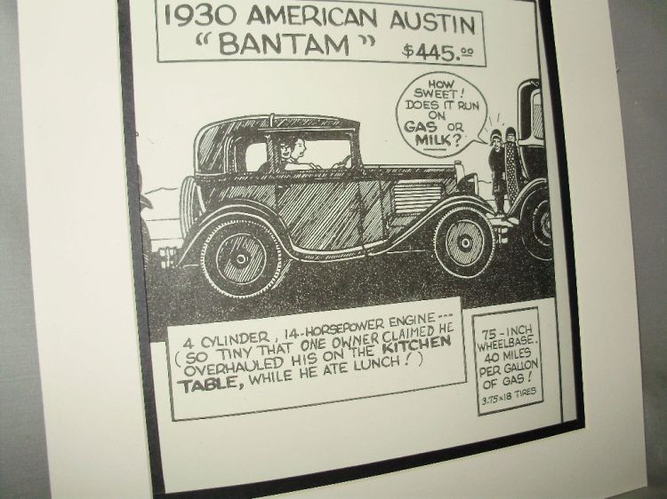 Austin Drawing Coupe