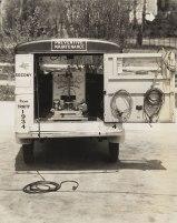 1934 American Austin Panel Truck Rear Open