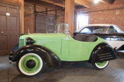1938 American Bantam Roadster with original Stabilite headlight buckets, seller has lenses and inner cups