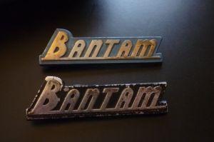 bantam emblems 1940