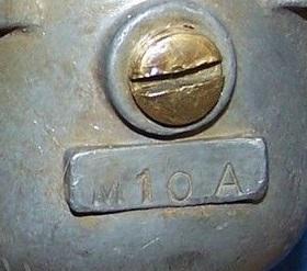 Tillotson M10a stamp