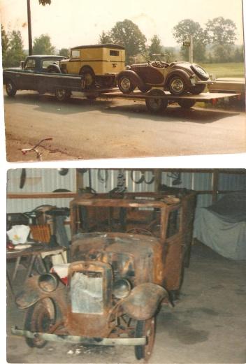 1934 Austin restored-fire 001