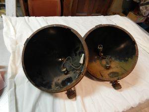American Austin Headlight Buckets