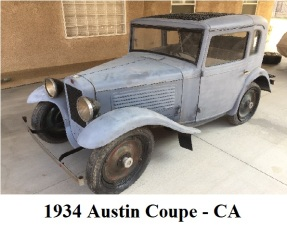 1934 American Austin Coupe Featured Photo
