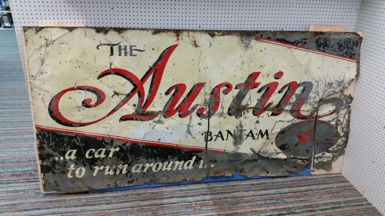 american austin sign original